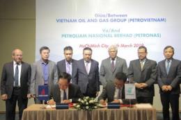 Petronas đồng ý nguyên tắc cho PVN mua khí bổ sung