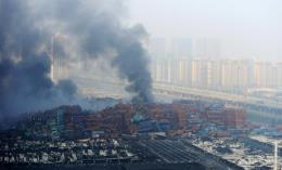 Nổ lớn phá hủy gần như hoàn toàn một nhà máy hóa chất