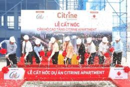 Cất nóc căn hộ cao tầng Citrine Apartment