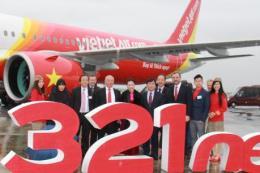 Vietjet Air nhận tàu bay Airbus A321neo thế hệ mới tại Pháp