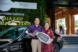 """ParkCity Hanoi trao thưởng """"Mua nhà đẹp - Trúng xe Mercedes"""" cho khách hàng"""