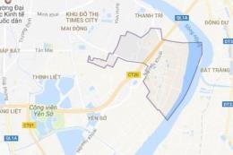 Bản đồ quy hoạch giao thông phường Lĩnh Nam, Hoàng Mai, Hà Nội