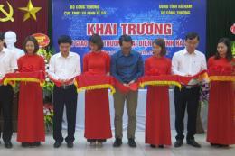 Hà Nam: Khai trương sàn giao dịch thương mại điện tử