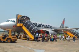 Lần đầu tiên sử dụng máy bay Airbus A320 cho chặng bay giữa Vinh – Đà Nẵng
