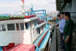 Ngăn tàu cá khai thác bất hợp pháp