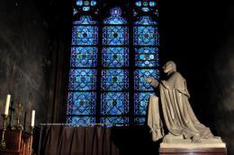 Toàn bộ các bức tranh quý của Nhà thờ Đức bà Paris được phục chế