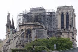 Nhà thờ Đức Bà Paris đứng trước nguy cơ tiếp tục bị hư hại do mưa