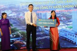 Trái cây Tây Ninh phục vụ trên các chuyến bay của Vietnam Airlines