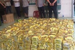 Tp Hồ Chí Minh triệt phá đường dây vận chuyển hơn 1,1 tấn ma túy
