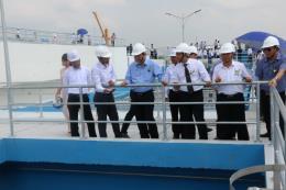 Nhà máy nước sạch Nhị Thành đi vào hoạt động