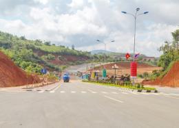 Công trình Quốc môn Cửa khẩu Quốc tế Bờ Y dự kiến hoàn thành tháng 12/2019
