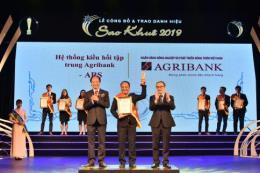 Agribank được vinh danh tại Giải thưởng Sao Khuê 2019