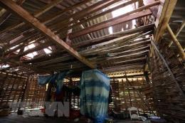 Mưa kèm gió lốc gây thiệt hại nặng tại Tuyên Quang