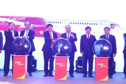 Vietjet Air kỷ niệm 5 năm mở đường bay đến Trung Quốc