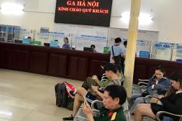 Đường sắt Hà Nội đã bán hết vé tàu dịp cao điểm nghỉ lễ 30/4-1/5