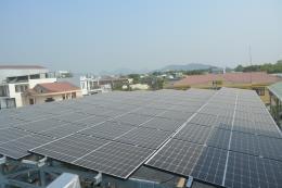 Bình Định hoàn thành lắp đặt hệ thống điện mặt trời áp mái giai đoạn 2