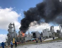 Nổ lớn tại nhà máy hóa chất ở Mỹ, 7 người bị thương và mất tích