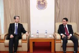 Tổng Giám đốc Thông tấn xã Việt Nam tiếp Đại sứ Trung Quốc Hùng Ba