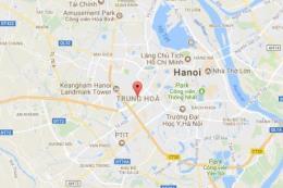 Bản đồ quy hoạch giao thông phường Trung Hòa, Cầu Giấy, Hà Nội