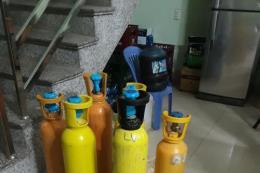 Lạng Sơn thu giữ trên 100 kg khí cười