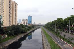 Cấp nước tự chảy cho các sông nội thành cải thiện môi trường nước