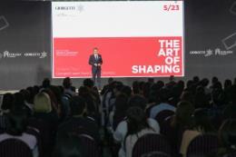 Nhà thiết kế huyền thoại Carlo Colombo (Ý) tham dự sự kiện 120 năm thương hiệu GIORGETTI