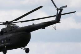 Trực thăng bị rơi khi tham gia chữa cháy rừng