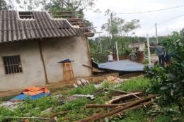 Yên Bái: Mưa lốc gây thiệt hại về người và của