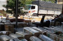 Phát hiện vụ vận chuyển 272 máy lạnh cũ, 182 kiện hàng diện cấm nhập khẩu