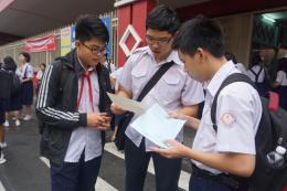 Đề thi tiếng Anh vào 10 tại Thành phố Hồ Chí Minh bị lỗi chính tả