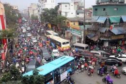 Hà Nội: 11 tuyến phố cấm taxi và xe hợp đồng trong giờ cao điểm