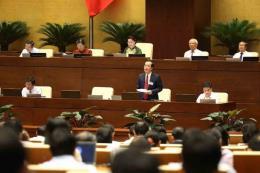 Tư lệnh ngành Xây dựng, Giao thông Vận tải giải đáp vấn đề quốc hội quan tâm