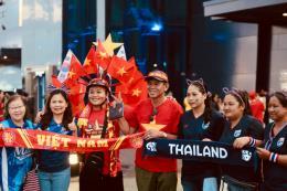 KING'S CUP 2019: Cổ động viên Việt Nam