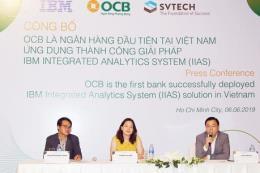 OCB – Ngân hàng đầu tiên triển khai hệ thống IIAS