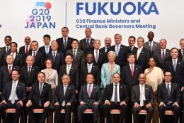 Saudi Arabia tiếp quản vị trí Chủ tịch G20 từ Nhật Bản