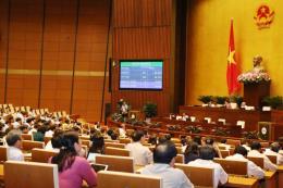 Quốc hội thông qua Nghị quyết về Chương trình giám sát của Quốc hội năm 2020