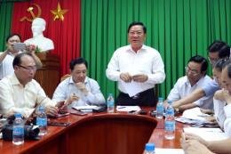 """Sóc Trăng họp báo thông tin về vụ """"Đại gia xăng dầu"""" Trịnh Sướng bị bắt"""