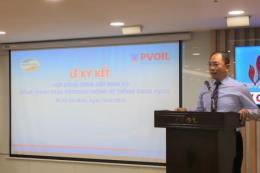 PVOIL ứng dụng thanh toán không dùng tiền mặt và thẻ tín dụng
