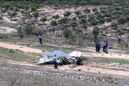 Rơi máy bay huấn luyện quân sự ở Khánh Hòa