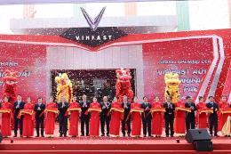 Tập đoàn Vingroup khánh thành nhà máy sản xuất ô tô VinFast