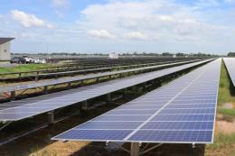 Một loạt nhà máy điện năng lượng mặt trời hòa lưới điện quốc gia