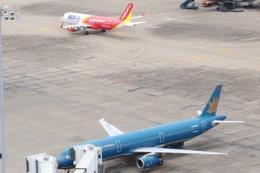 Tháng 5, tỷ lệ đúng giờ của hàng không Việt Nam đạt trên 86%