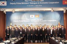 Việt Nam, Hàn Quốc đạt nhiều thỏa thuận trong đối thoại kinh tế