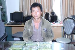 Lào Cai bắt đối tượng vận chuyển trái phép 2,1 kg heroin