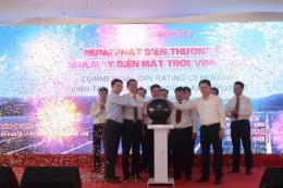 Nhà máy điện mặt trời Vĩnh Tân 2 phát điện