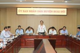 Bộ trưởng Phùng Xuân Nhạ kiểm tra công tác chuẩn bị kỳ thi THPT Quốc gia