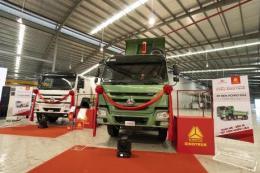 Daehan Motors ra mắt dòng xe ben và xe trộn bê tông Howo – Sinotruk