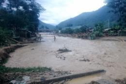 Cảnh báo lũ quét và sạt lở đất tại 3 tỉnh miền núi phía bắc