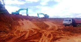 Làm rõ vụ san ủi đất, phân lô, làm đường trái phép ở Đà Lạt