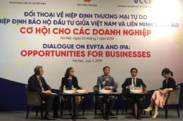 EVFTA và EVIPA: Cơ hội cho doanh nghiệp đẩy mạnh xuất khẩu